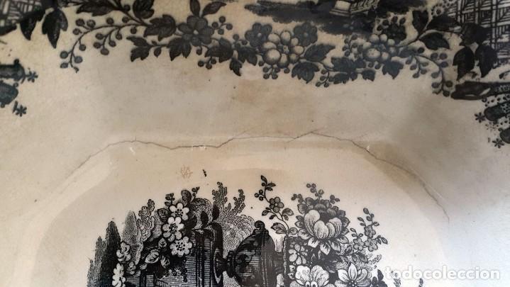 Antigüedades: FUENTE PICKMAN Y CIA, SEVILLA 1870-VENECIA- VARIOS SELLOS.36cmX28cm. - Foto 3 - 80019649