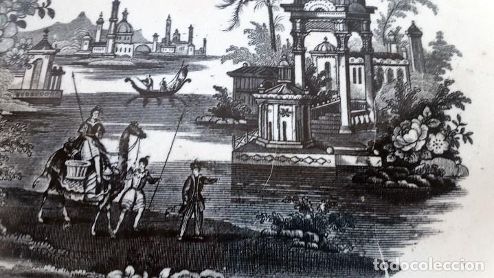 Antigüedades: FUENTE PICKMAN Y CIA, SEVILLA 1870-VENECIA- VARIOS SELLOS.36cmX28cm. - Foto 4 - 80019649
