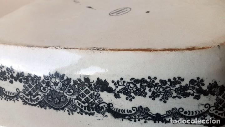 Antigüedades: FUENTE PICKMAN Y CIA, SEVILLA 1870-VENECIA- VARIOS SELLOS.36cmX28cm. - Foto 5 - 80019649