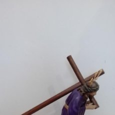 Antigüedades: IMAGEN DE JESÚS NAZARENO O CRISTO DEL GRAN PODER DE OLOT. Lote 161827629