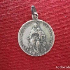 Antigüedades: EL ESCORIAL. MADRID. VIRGEN DE LA CONSOLACIÓN. ANTIGUA MEDALLA RECUERDO DE EL ESCORIAL. Lote 80037125