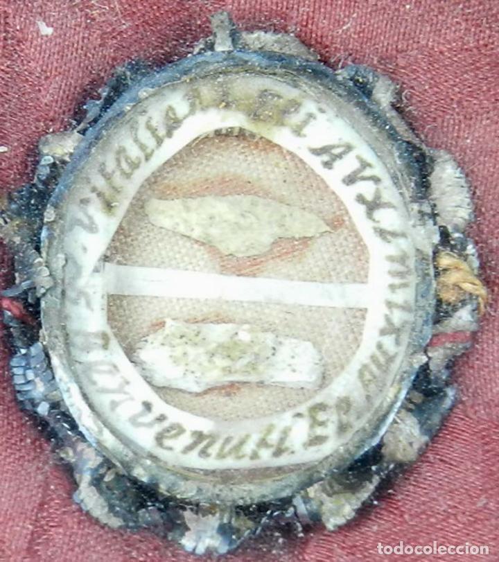 Antigüedades: EXCEPCIONAL RELICARIO COMPUESTO POR UN MARCO DE 11 ESFERAS OVALADAS CON 18 RELICARIOS EN SU INTERIOR - Foto 18 - 40644769