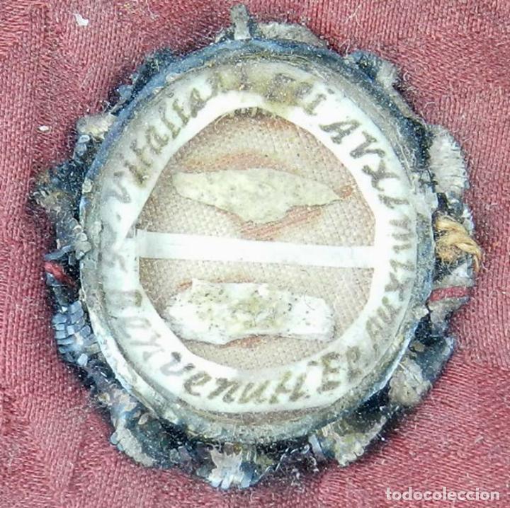 Antigüedades: EXCEPCIONAL RELICARIO COMPUESTO POR UN MARCO DE 11 ESFERAS OVALADAS CON 18 RELICARIOS EN SU INTERIOR - Foto 19 - 40644769