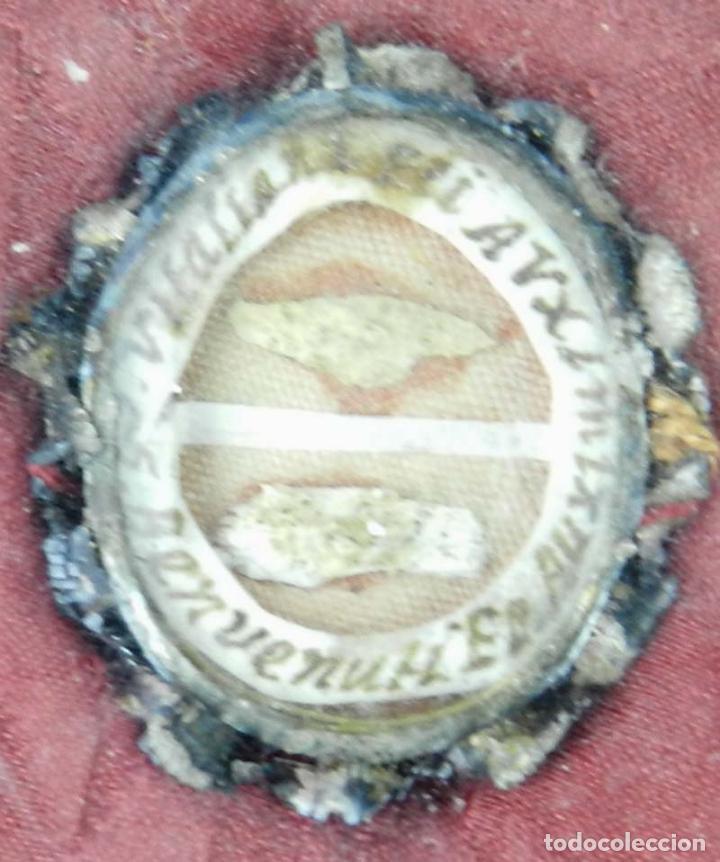Antigüedades: EXCEPCIONAL RELICARIO COMPUESTO POR UN MARCO DE 11 ESFERAS OVALADAS CON 18 RELICARIOS EN SU INTERIOR - Foto 21 - 40644769