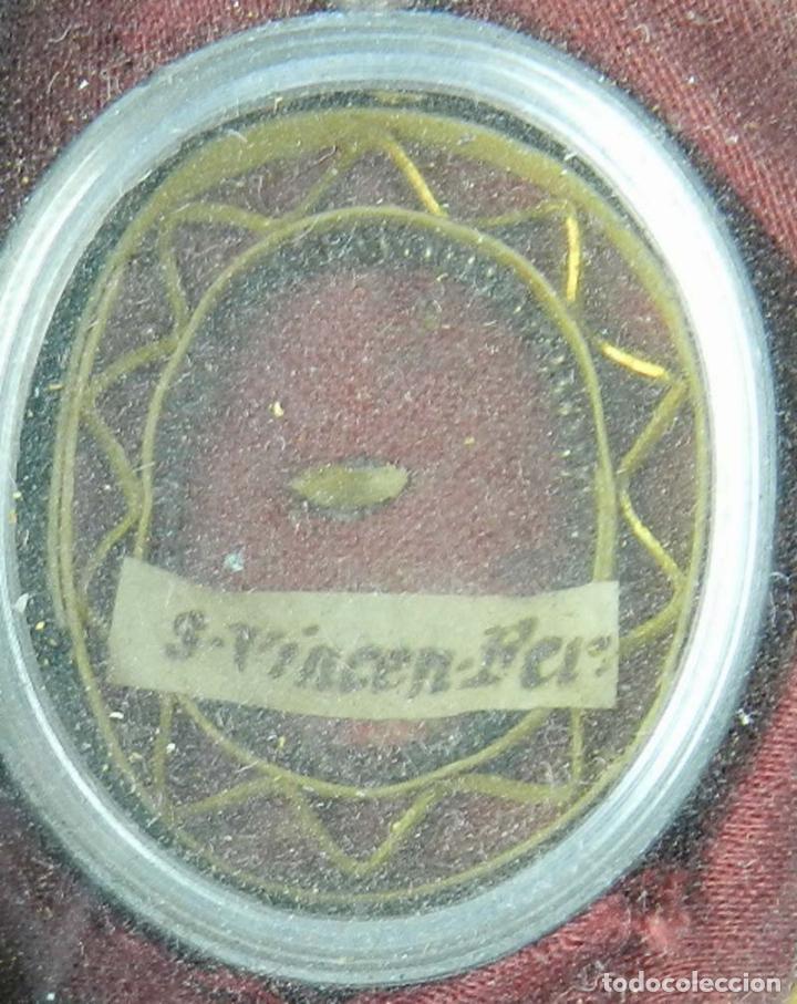 Antigüedades: EXCEPCIONAL RELICARIO COMPUESTO POR UN MARCO DE 11 ESFERAS OVALADAS CON 18 RELICARIOS EN SU INTERIOR - Foto 25 - 40644769