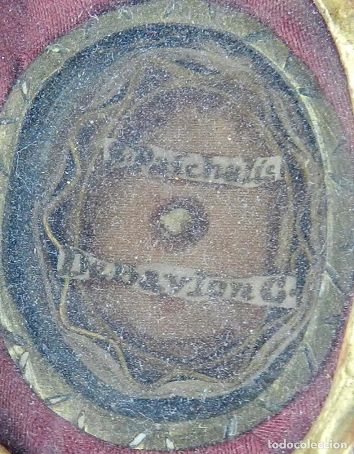 Antigüedades: EXCEPCIONAL RELICARIO COMPUESTO POR UN MARCO DE 11 ESFERAS OVALADAS CON 18 RELICARIOS EN SU INTERIOR - Foto 26 - 40644769