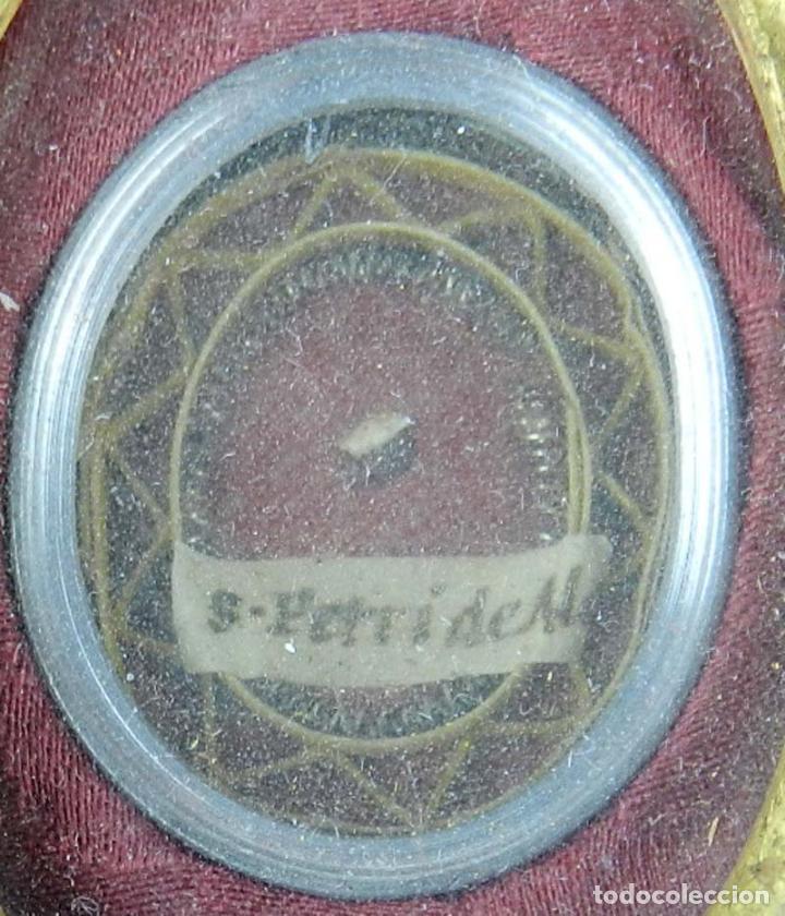 Antigüedades: EXCEPCIONAL RELICARIO COMPUESTO POR UN MARCO DE 11 ESFERAS OVALADAS CON 18 RELICARIOS EN SU INTERIOR - Foto 29 - 40644769