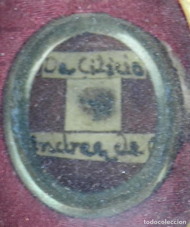 Antigüedades: EXCEPCIONAL RELICARIO COMPUESTO POR UN MARCO DE 11 ESFERAS OVALADAS CON 18 RELICARIOS EN SU INTERIOR - Foto 30 - 40644769