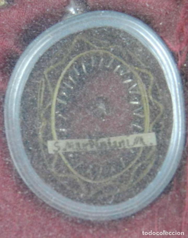 Antigüedades: EXCEPCIONAL RELICARIO COMPUESTO POR UN MARCO DE 11 ESFERAS OVALADAS CON 18 RELICARIOS EN SU INTERIOR - Foto 33 - 40644769
