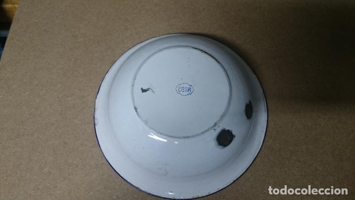 Antigüedades: Palangana EGSA porcelana - Foto 2 - 80069505