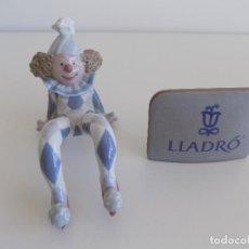 Antigüedades: LLADRO: MUÑECO DE TRAPO SENTADO. DESCATALOGADO EN 1991 (NUEVO). Lote 80070045