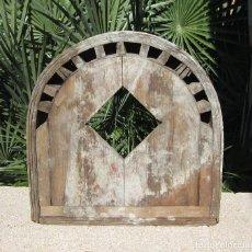 Antigüedades: MOLDE O PLANTILLA PARA VENTANA. Lote 80083093