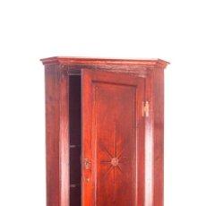 Antigüedades: ANTIGUO ARMARIO - VITRINA RINCONERA PARA COLGAR - RUSTICA - FRANCIA - MADERA DE ROBLE - S. XIX. Lote 80089069