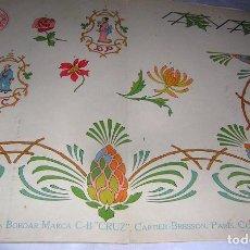 Antigüedades: LITOGRAFÍA EL CONSULTOR DE LOS BORDADOS LUJO, Nº 535. Lote 80157033