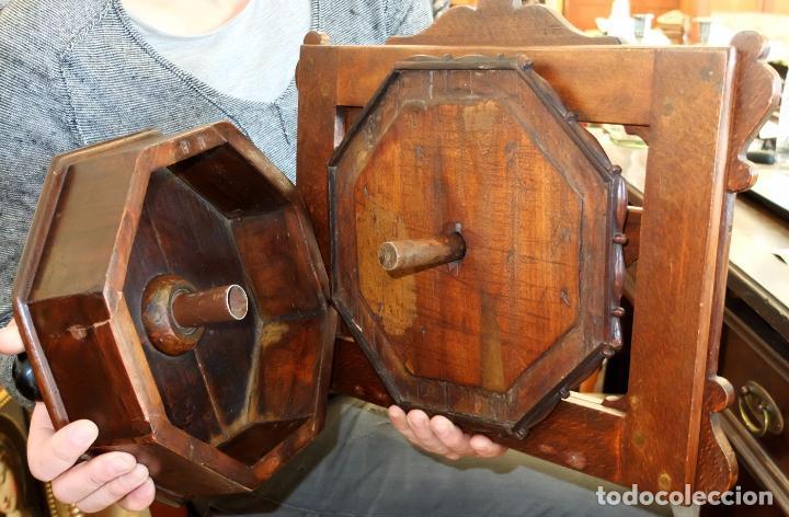 Antigüedades: SENSACIONAL ATRIL EN MADERA DE MEDIADOS DEL SIGLO XIX - Foto 9 - 80173717