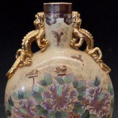 Antigüedades: IMPORTANTE JARRON DE MANUFACTURA CHINA. PRINCIPIOS DEL SIGLO XX. Lote 80174609
