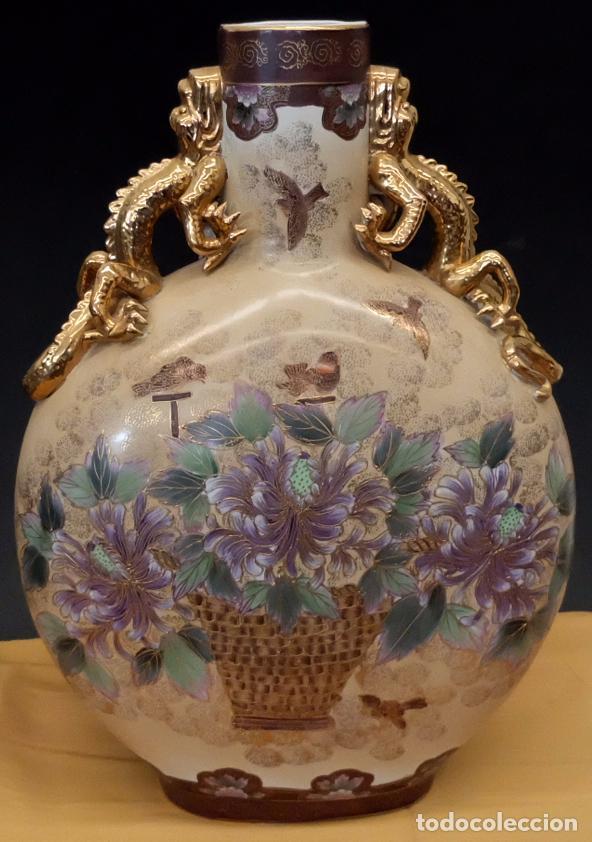 Antigüedades: IMPORTANTE JARRON DE MANUFACTURA CHINA. PRINCIPIOS DEL SIGLO XX - Foto 2 - 80174609