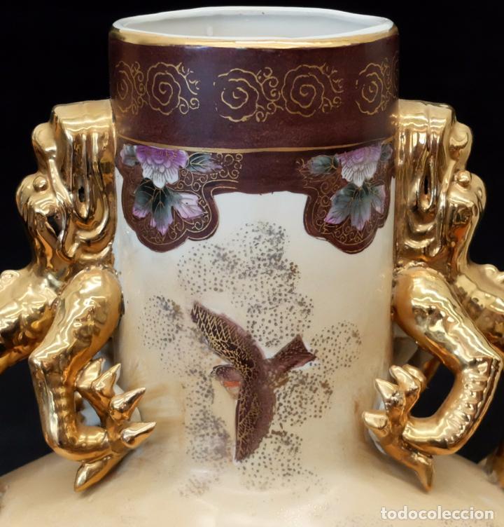 Antigüedades: IMPORTANTE JARRON DE MANUFACTURA CHINA. PRINCIPIOS DEL SIGLO XX - Foto 3 - 80174609