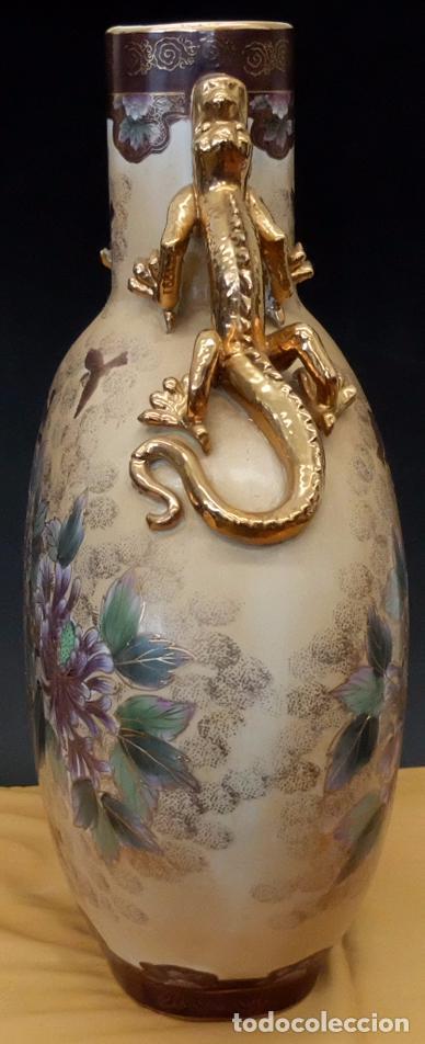 Antigüedades: IMPORTANTE JARRON DE MANUFACTURA CHINA. PRINCIPIOS DEL SIGLO XX - Foto 11 - 80174609