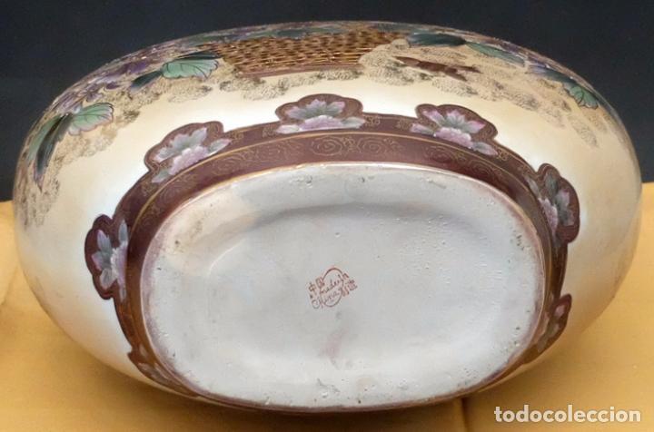 Antigüedades: IMPORTANTE JARRON DE MANUFACTURA CHINA. PRINCIPIOS DEL SIGLO XX - Foto 15 - 80174609