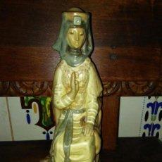 Antigüedades: MUY ANTIGUA FIGURA LLADRO REINA GOTICA. Lote 80180301