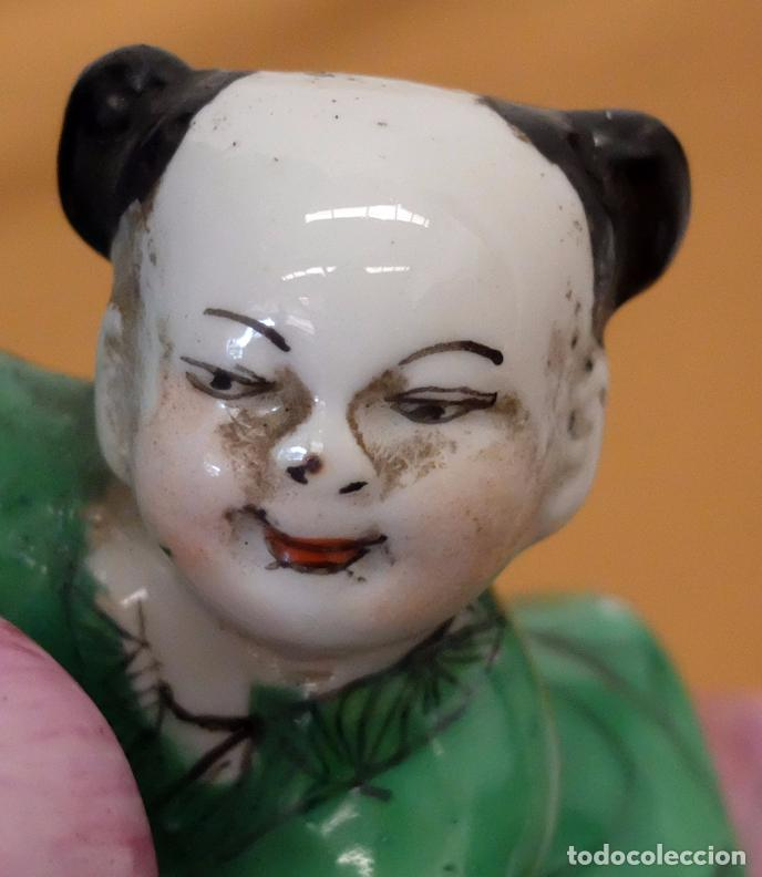 Antigüedades: IMPORTANTE JARRON DE MANUFACTURA CHINA. PRINCIPIOS DEL SIGLO XX - Foto 2 - 80188617