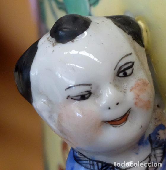 Antigüedades: IMPORTANTE JARRON DE MANUFACTURA CHINA. PRINCIPIOS DEL SIGLO XX - Foto 10 - 80188617