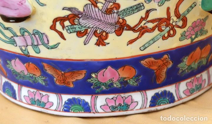 Antigüedades: IMPORTANTE JARRON DE MANUFACTURA CHINA. PRINCIPIOS DEL SIGLO XX - Foto 13 - 80188617
