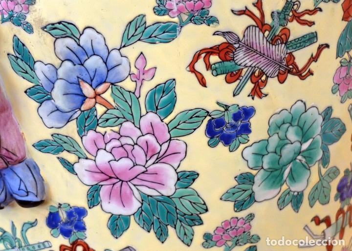 Antigüedades: IMPORTANTE JARRON DE MANUFACTURA CHINA. PRINCIPIOS DEL SIGLO XX - Foto 16 - 80188617