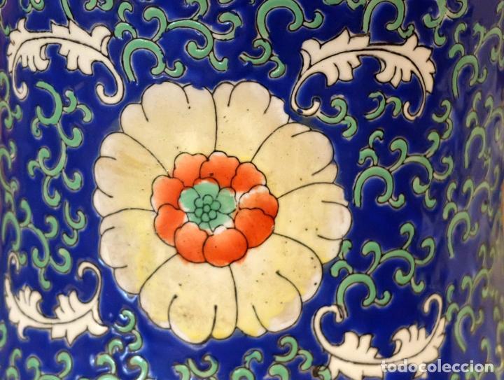 Antigüedades: IMPORTANTE JARRON DE MANUFACTURA CHINA. PRINCIPIOS DEL SIGLO XX - Foto 18 - 80188617