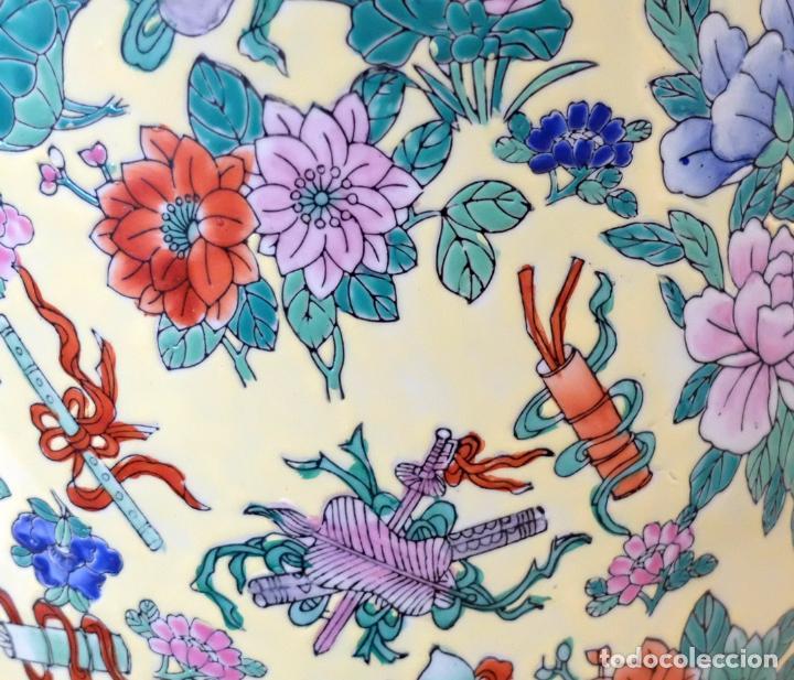 Antigüedades: IMPORTANTE JARRON DE MANUFACTURA CHINA. PRINCIPIOS DEL SIGLO XX - Foto 19 - 80188617