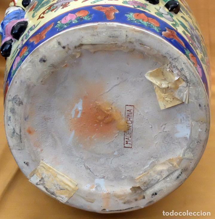 Antigüedades: IMPORTANTE JARRON DE MANUFACTURA CHINA. PRINCIPIOS DEL SIGLO XX - Foto 25 - 80188617