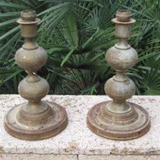 Antigüedades: 2 CANDELABROS. Lote 80218157