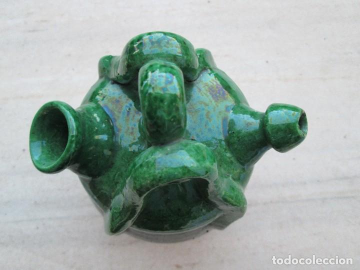 Antigüedades: botijo 18 ctm de alto - Foto 2 - 80220057