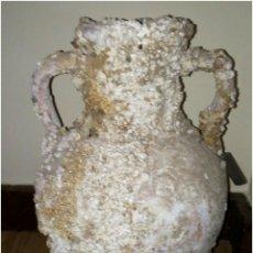 Antigüedades: DECORACIÓN ÁNFORA ROMANA SUMERGIDA. Lote 131324086