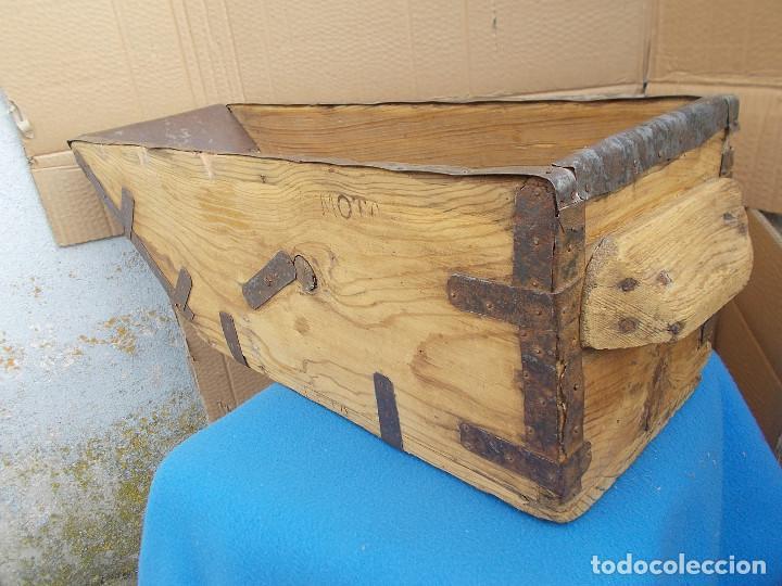 Antigüedades: ANTIGUA MEDIDA PARA EL GRANO - Foto 5 - 80242933