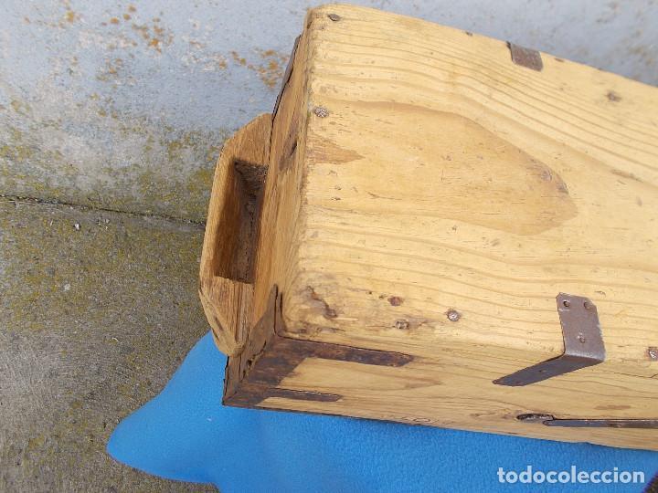 Antigüedades: ANTIGUA MEDIDA PARA EL GRANO - Foto 7 - 80242933