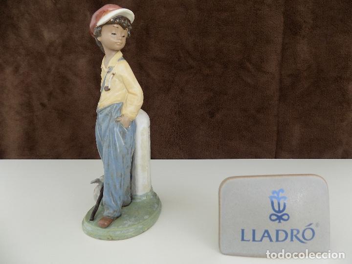 LLADRO- GOLFILLO PLANTADO. FECHA DE ANULACION: 1998 (NUEVA, CON CAJA ORIGINAL) (Antigüedades - Porcelanas y Cerámicas - Lladró)
