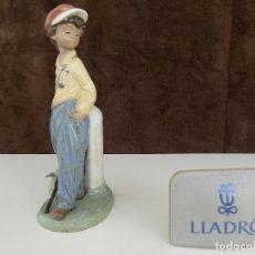 Antigüedades: LLADRO- GOLFILLO PLANTADO. FECHA DE ANULACION: 1998 (NUEVA, CON CAJA ORIGINAL). Lote 80251425