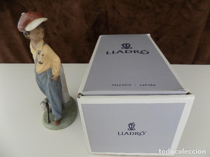 Antigüedades: LLADRO- GOLFILLO PLANTADO. Fecha de Anulacion: 1998 (NUEVA, CON CAJA ORIGINAL) - Foto 11 - 80251425