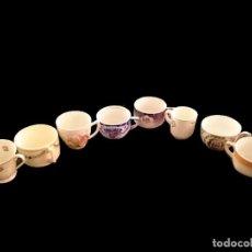 Antigüedades: ANTIGUAS TAZAS DE CAFÉ, VARIADAS, MUY BONITAS. Lote 60427959