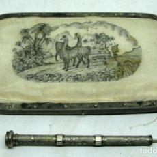 Antigüedades: LIBRETA DE BAILE SIGLO XIX. Lote 80301121