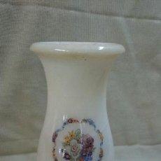 Antigüedades: JARRÓN DE ALABASTRO 23 CM. Lote 80313533