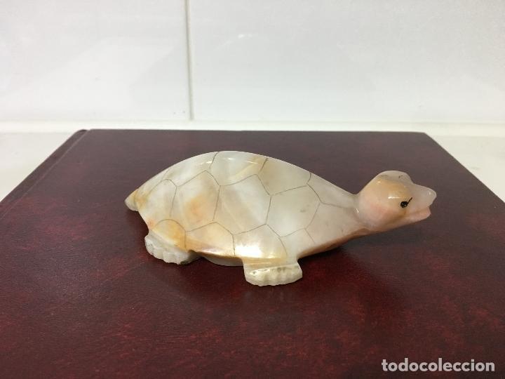 figura de jade, una tortuga de 12,30 cm. hasta - Comprar Figuras ...