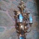 Antigüedades: APLIQUE CORNUCOPIA EN PAN DE ORO.. Lote 80406541
