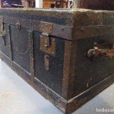 Antigüedades: ANTIGUO BAÚL DE VIAJE . Lote 80441093