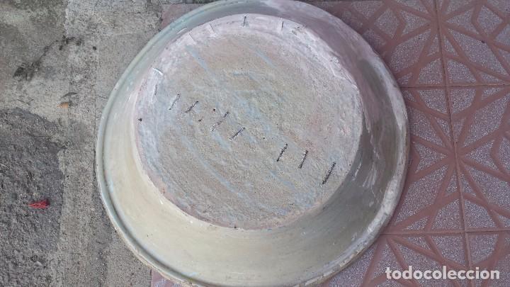 Antigüedades: antiguo lebrillo de triana, pintado a mano - Foto 8 - 149529176