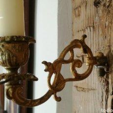 Antigüedades: CANDELABRO DE PARED. Lote 80468815