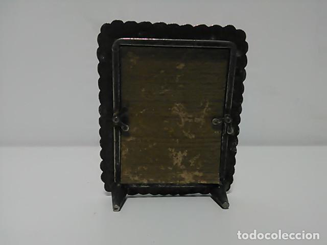 Antigüedades: Portafotos, portaretratos medidas interior 5,5x4,5cm - Foto 2 - 80472629