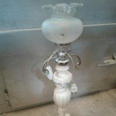 Antigüedades: LAMPARA ALABASTRO. Lote 80477171